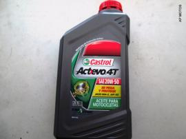Aceite 4T Castrol Actevo 20w 50 Mineral