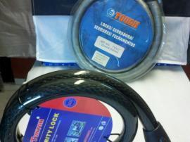 Candado Linga Cable de Acero TONYON 25 x 1000