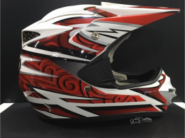 Casco Integral Cross Guerrero