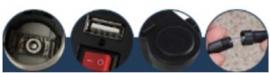 Cargador USB & Encendedor CD-3016