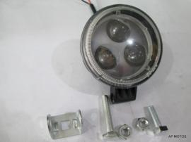Faro Optica Auxiliar 3 Led Con Lupa